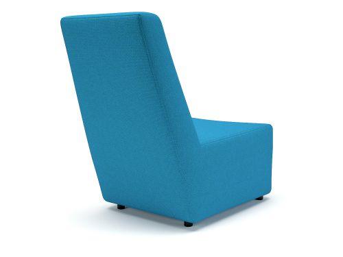 Pella 65cm Wide Chair Everlasting Fabric Standard Feet