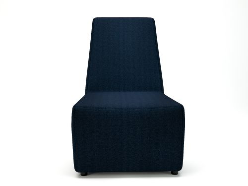 Pella 65cm Wide Chair Forward Fabric Standard Feet