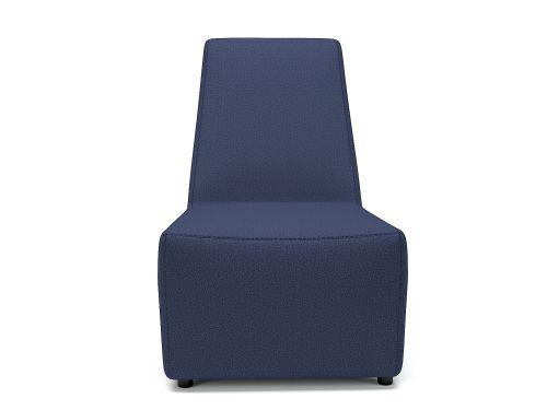Pella 65cm Wide Chair Poppy Fabric Standard Feet