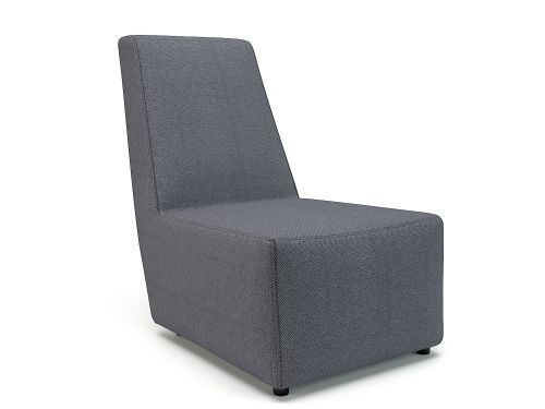 Pella 65cm Wide Chair Present Fabric Standard Feet