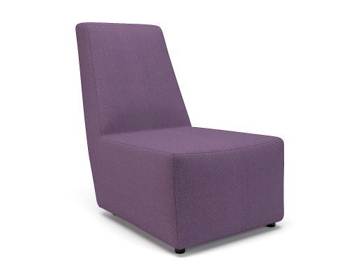Pella 65cm Wide Chair Prime Fabric Standard Feet