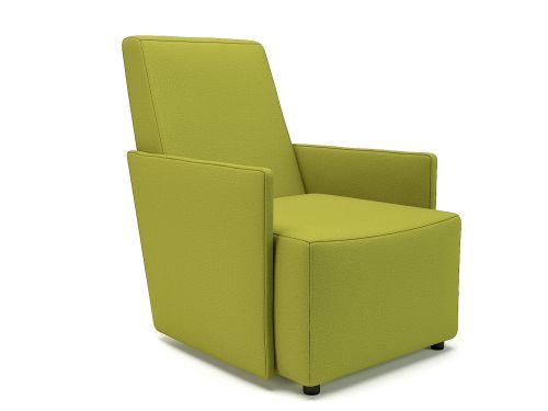 Pella 69cm Wide Armchair Citron Fabric Standard Feet