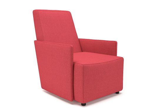 Pella 69cm Wide Armchair Cycle Fabric Standard Feet