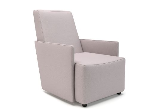Pella 69cm Wide Armchair Linen Fabric Standard Feet