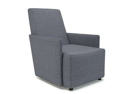 Pella 69cm Wide Armchair Present Fabric Standard Feet