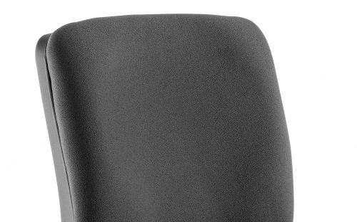 Chiro Medium Back Task Operators Chair Black With Arms