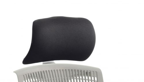 Trexus Flex Headrest White Shell Fabric Black Ref OP000054