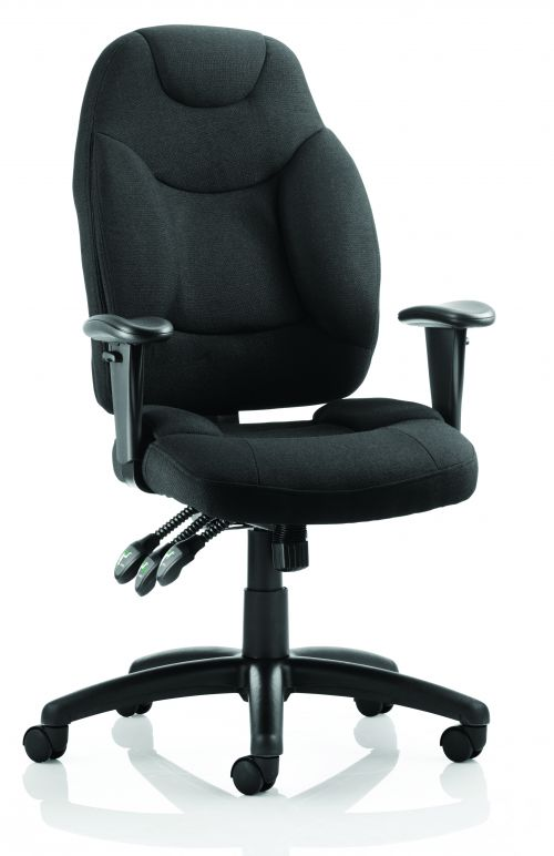 Galaxy Chair Black Fabric OP000064