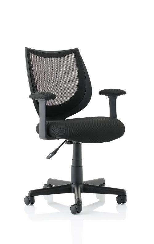 Camden Black Mesh Chair OP000238
