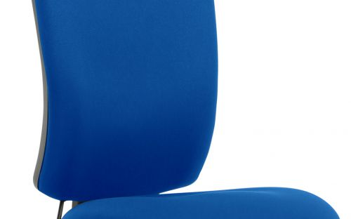 Chiro High Back Blue