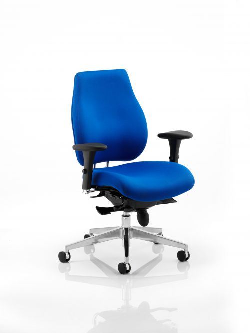 Chiro Plus Chair Blue With Arms PO000003