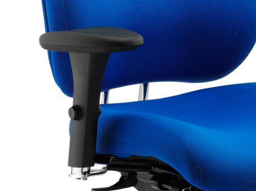Chiro Plus Ergo Posture Chair Blue With Arms