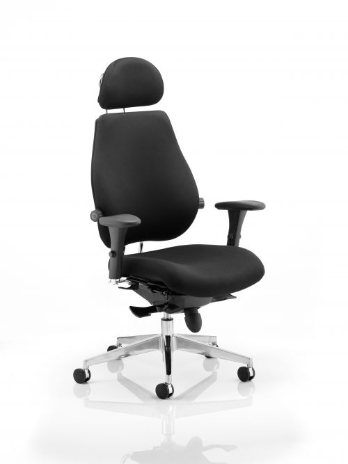 Chiro Plus Ultimate Chair Black PO000011