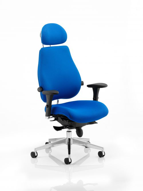 Chiro Plus Ultimate Chair Blue PO000012
