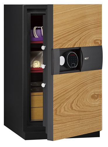 Phoenix Next LS7003FO Luxury Safe Size 3 (Oak) with Fingerprint Lock
