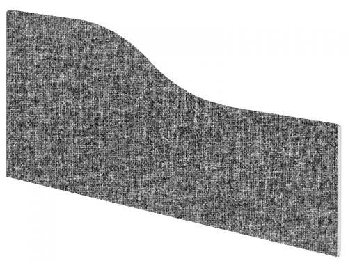 Impulse Plus Wave 450/600 Desktop Screen Lead Fabric Light Grey Edges