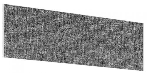 Impulse Plus Angle 450/600 Desktop Screen Lead Fabric Light Grey Edges