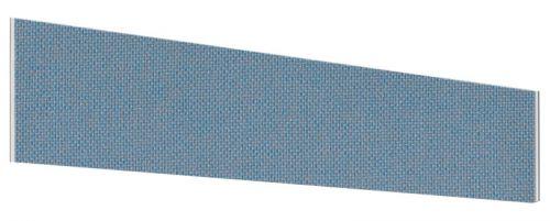 Impulse Plus Angle 450/1600 Desktop Screen Sky Blue Fabric Light Grey Edges