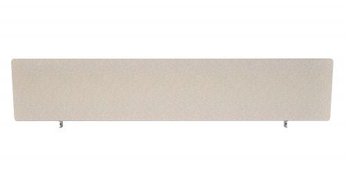 Impulse Plus Oblong 450/1800 Desktop Screen Light Grey Fabric Light Grey Edges