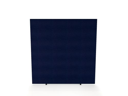 Impulse Plus Oblong 1800/1000 Floor Free Standing Screen Royal Blue Fabric Light Grey Edges