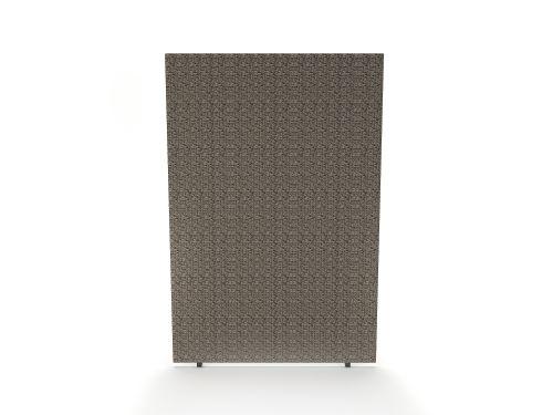 Impulse Plus Oblong 1800/1200 Floor Free Standing Screen Lead Fabric Light Grey Edges