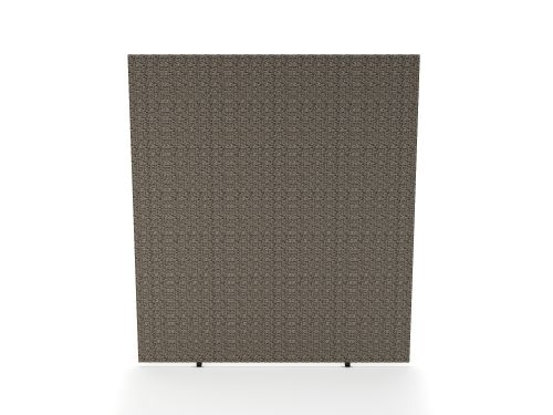 Impulse Plus Oblong 1800/1600 Floor Free Standing Screen Lead Fabric Light Grey Edges