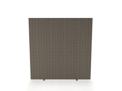 Impulse Plus Oblong 1650/800 Floor Free Standing Screen Lead Fabric Light Grey Edges