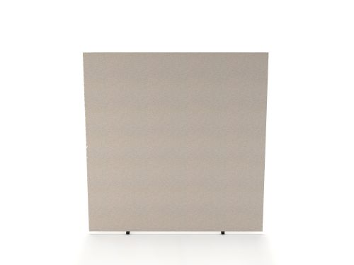 Impulse Plus Oblong 1650/1400 Floor Free Standing Screen Light Grey Fabric Light Grey Edges