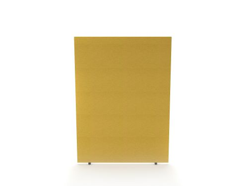 Impulse Plus Oblong 1500/800 Floor Free Standing Screen Beige Fabric Light Grey Edges