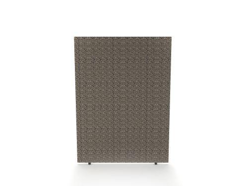 Impulse Plus Oblong 1500/1200 Floor Free Standing Screen Lead Fabric Light Grey Edges