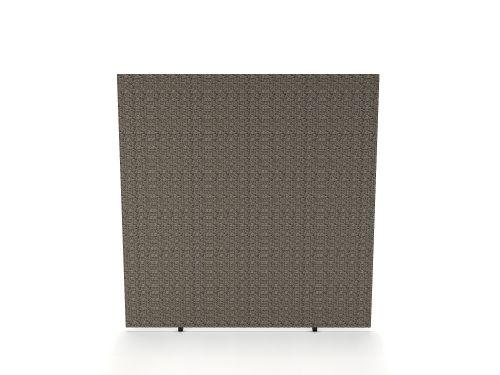 Impulse Plus Oblong 1500/1400 Floor Free Standing Screen Lead Fabric Light Grey Edges