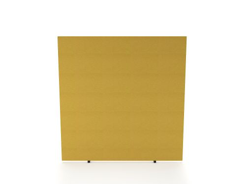 Impulse Plus Oblong 1500/1600 Floor Free Standing Screen Beige Fabric Light Grey Edges