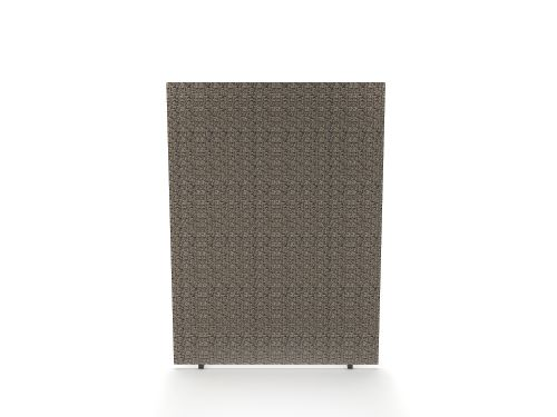 Impulse Plus Oblong 1200/600 Floor Free Standing Screen Lead Fabric Light Grey Edges