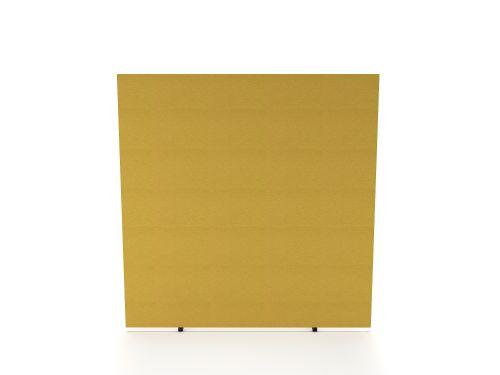 Impulse Plus Oblong 1200/1200 Floor Free Standing Screen Beige Fabric Light Grey Edges