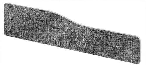 Impulse Plus Wave 300/1600 Desktop Screen Rounded Corners Lead Fabric Light Grey Edges