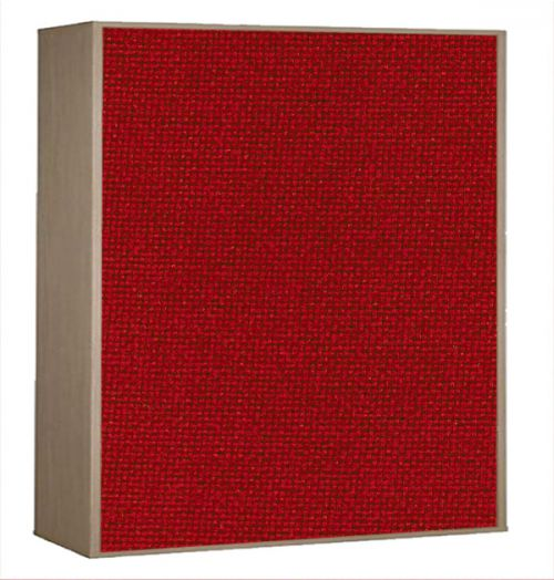 Impulse Plus Oblong 1116/756 Impulse Acoustic Baffles Burgundy Fabric