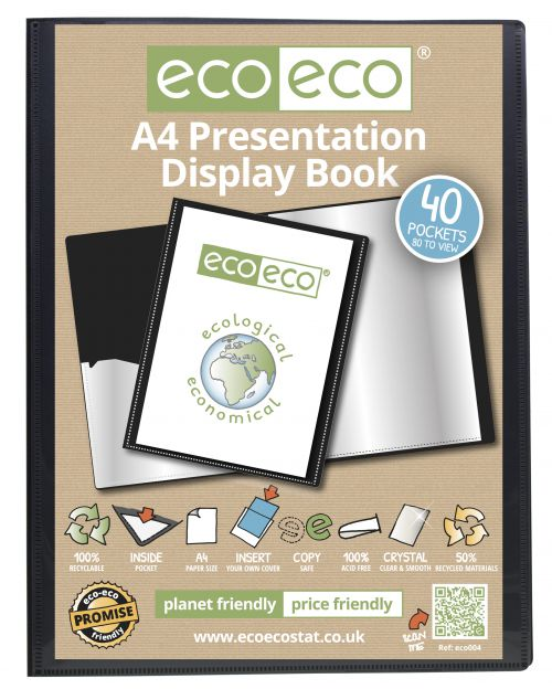 Eco Presentation Display Book 40 Pkt