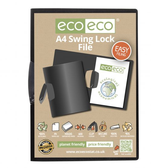 A4 95% Recycled Swing Lock File