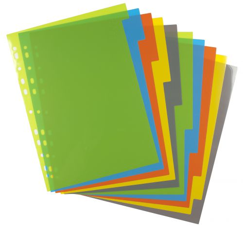 A4 50% Recycled Set 10 Index File Dividers