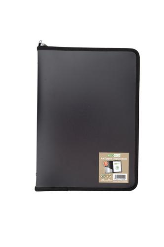 A4 50% Recycled 30 Pocket Zipped Display Book