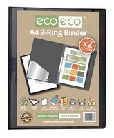 A4 95% Recycled Presentation 2 Ring Binder