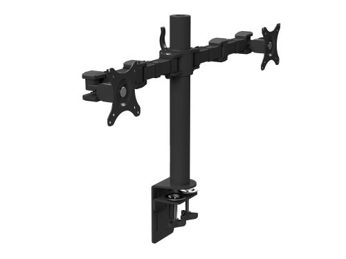 Stealth Desktop Monitor Arm DLB112 Double - Black