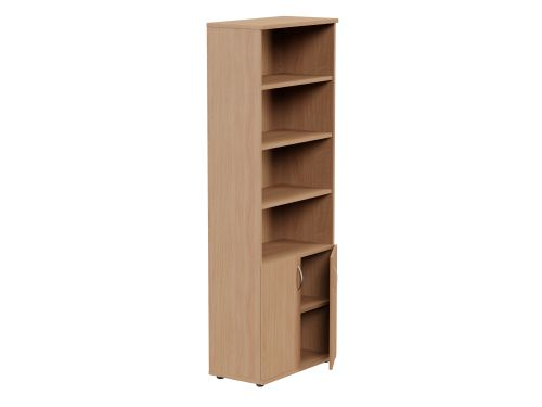 Kito 2210mm Part Open Storage - 2 Closed / 4 Open - Beech