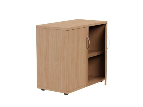 Kito Closed Storage 725mm - 1 + 3/4 Level (Desk High) - Beech