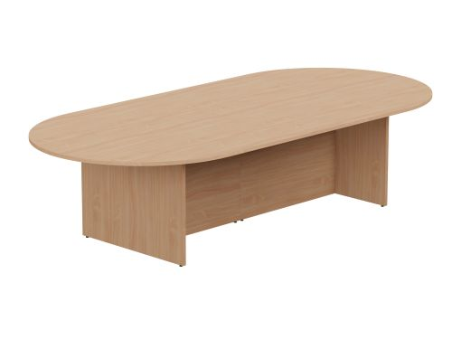 Kito Meeting Table Oval Panel Base 3000w x 1400d - Beech
