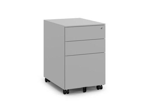KITO - X Series Steel Ped - 390w x 520d x 600h - Silver