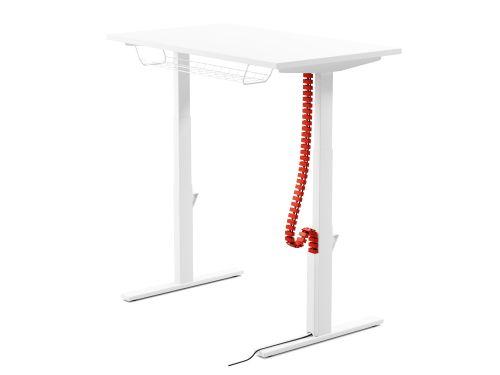 Leap Flexible Vertical Cable Chain Plastic - Black