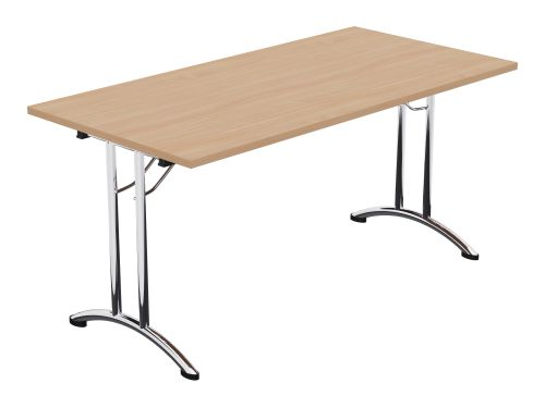 Morph Folding Retangular Table - 1500w x 750d - Beech
