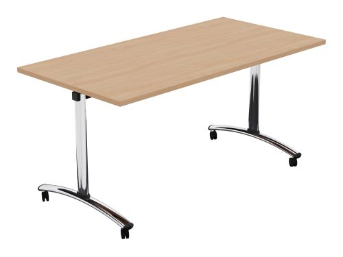 Morph Tilting Retangular Table - 1500w x 750d - Beech