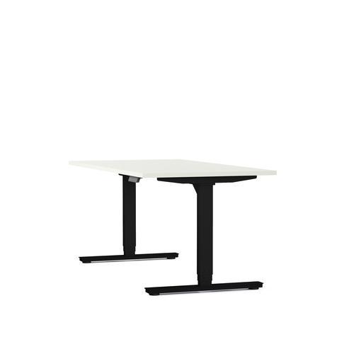 Axel standing desk W1200xD800 white/black